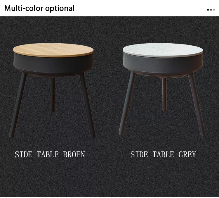 outdoor wood table with bluetooth speaker side table with wireless charging table usb charger buy side table with bluetooth speaker coffee tables