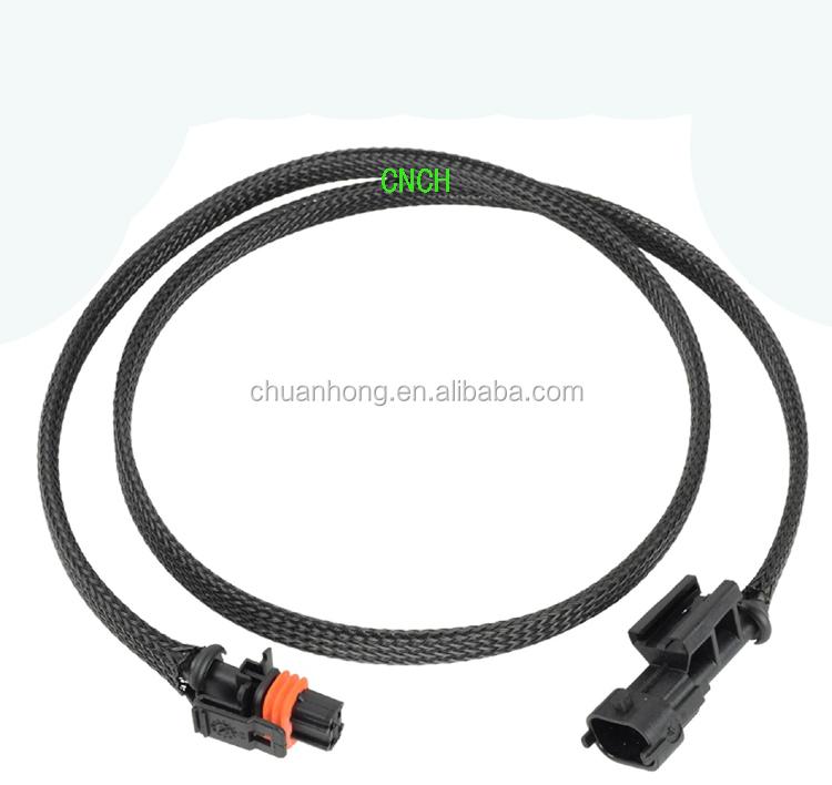 Alternator Relocation Extension Wiring Plug Kit For GM 2