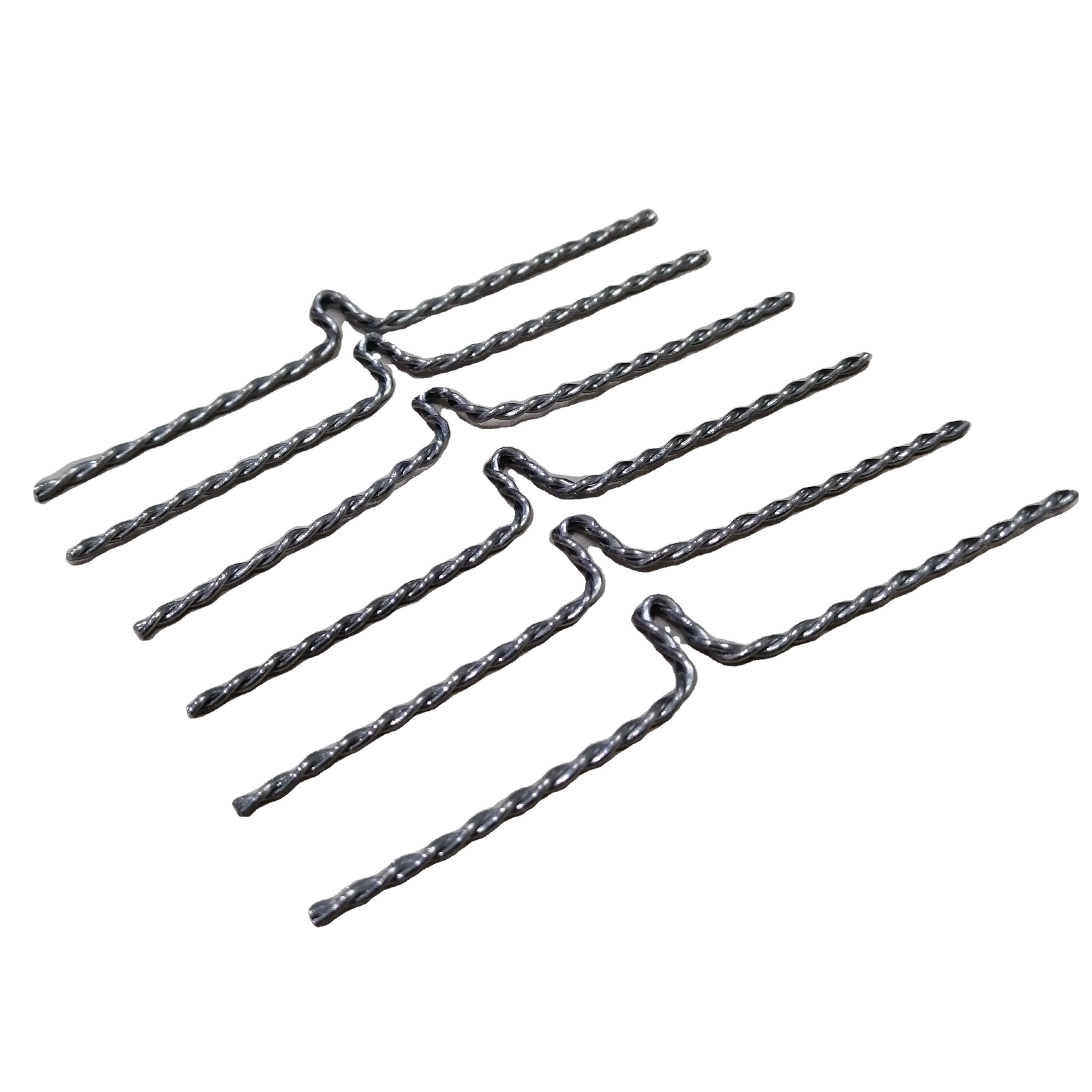 Dia0.635mm 99.95% Purity Wal1 Twisted Tungsten Wire Heater