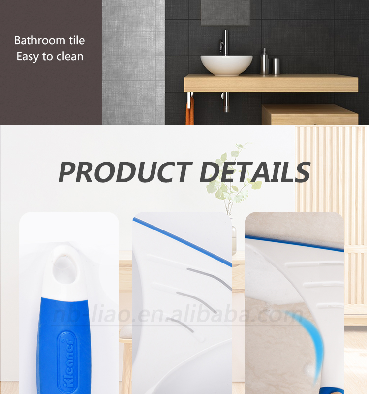 K19019 Kleaner Window Cleaner Window Wiper house interior squeegee tile glass wiper with TPR handle