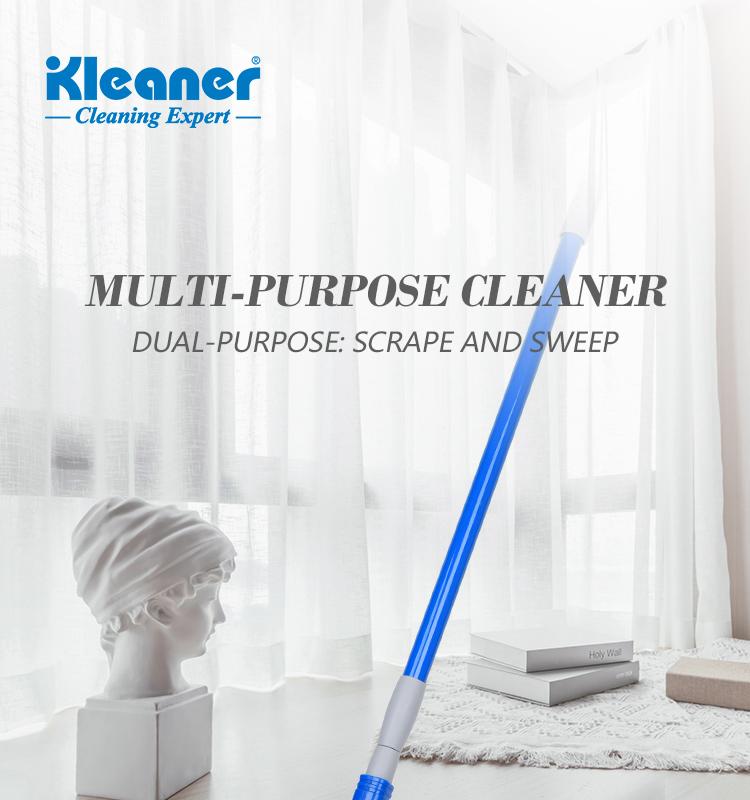 K19005 Kleaner Adjustable Long Handle Window Squeegee with Sponge