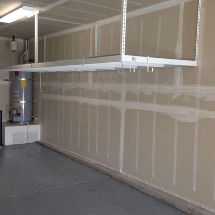 aceally garage lagerung decke rack overhead hangende lagerung steck regal buy garage storage ceiling rack overhead hanging storage boltless shelf