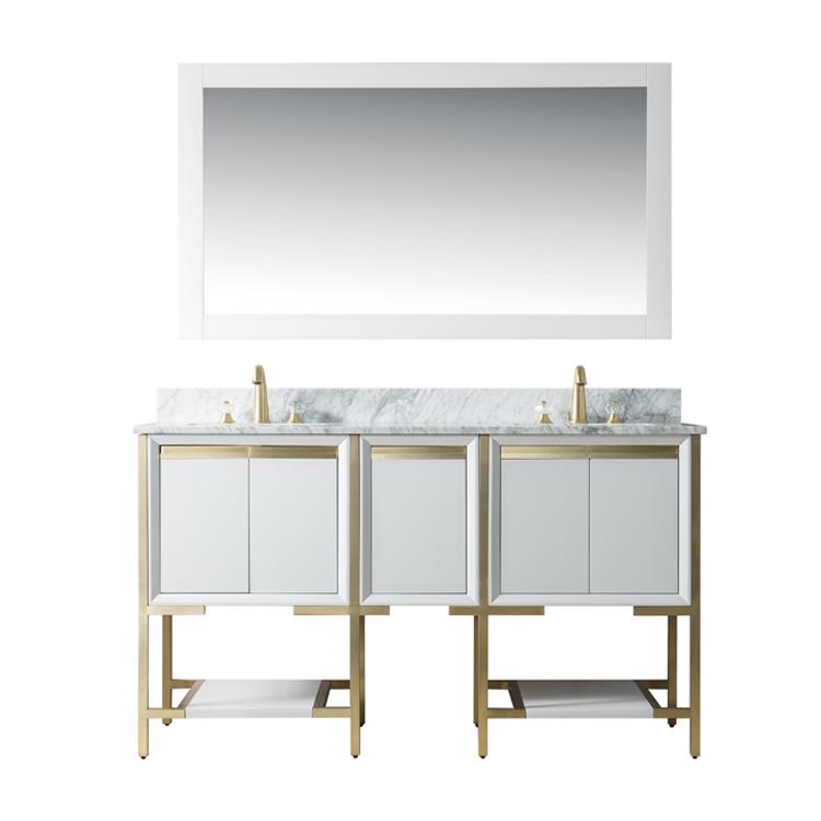 Homedee High Quality Stainless Steel Luxury Vanity Bathroom Buy Bathroom Double Sink Bathroom Vanity High Quality Bathroom Vanity Luxury Vanity Bathroom Product On Alibaba Com