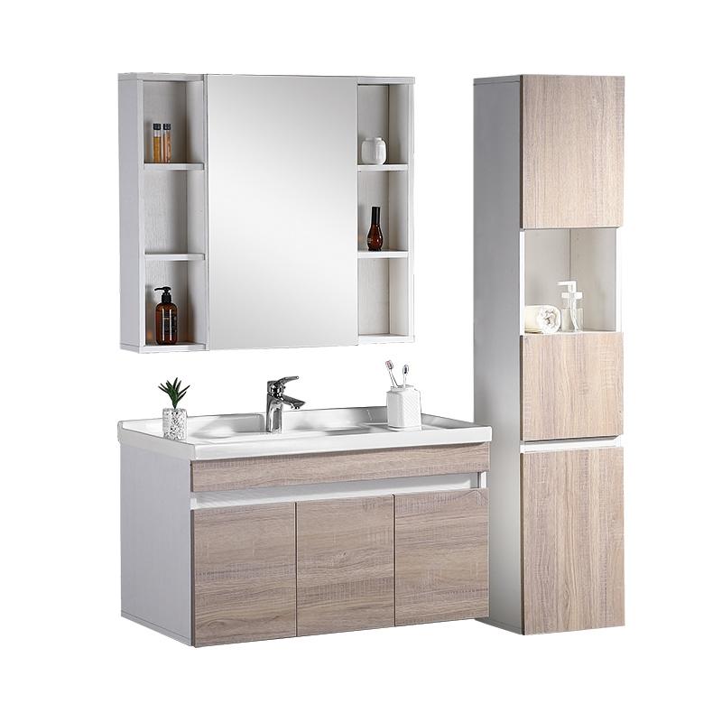 Solid Wood Vanity Sink Mirror Side Storage Cabinet Sets Bathroom Furniture Buy Bathroom Furniture Bathroom Vanity Furniture Bathroom Storage Cabinet Product On Alibaba Com