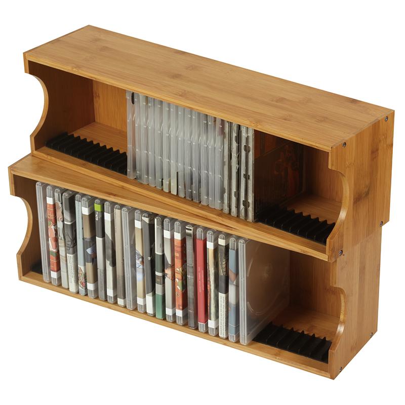 support en bois pour cd et dvd 5 pieces etagere pour livres et tablettes buy support de livre de bibliotheque presentoir de cd etagere de cd product