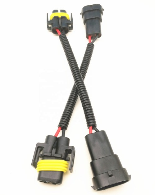 small resolution of h8 h11 wiring harness socket wire connector plug adapter for hid led foglight head light lamp bulb
