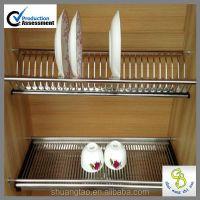 Alibaba China Kitchen Cabinet Dish Shelf,Cabinet Plate ...