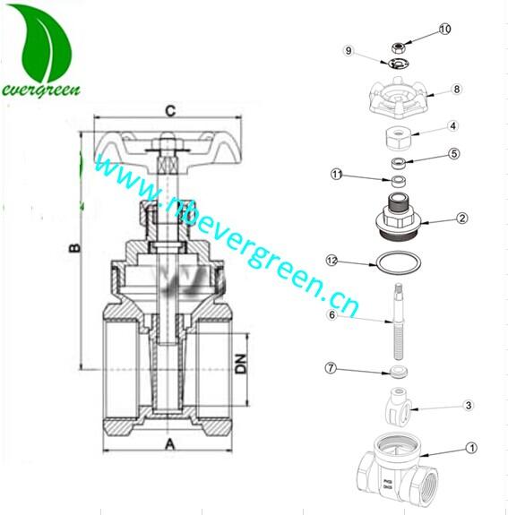 brass gate valve kitz gate valve, View kitz gate valve