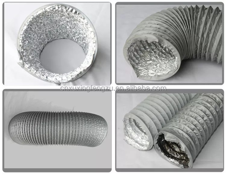 hvac flexible kitchen exhaust fan duct buy kitchen exhaust fan duct flexible duct pvc duct product on alibaba com