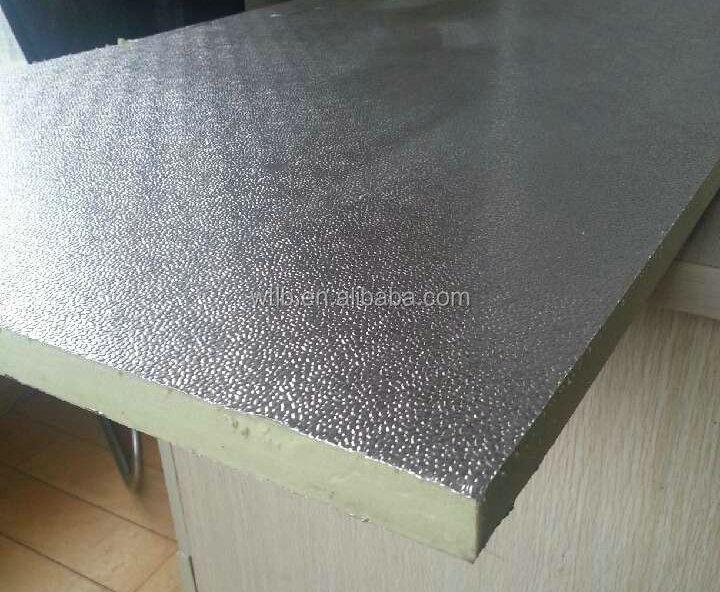 Aluminum Foil Xps Polystyrene Board Foam Duct Sheet Panel