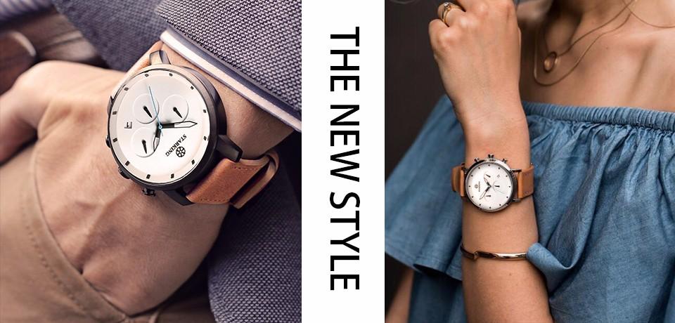 c3359fd523d STARKING Mulheres Relógios de Quartzo Tungstênio Moda Casual Famosa Marca  de Luxo 2016 Nova Chegada Relógio de Strass Preto BL0415