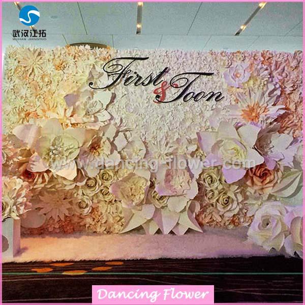 30cm Hanging Pom Rose Ball Tissue Paper Flower Decoration Garland Baby Shower Wedding Party