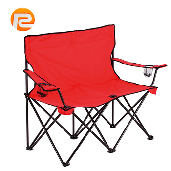 double seat folding chair ikea patio covers alibaba golden supplier portable cheap camping
