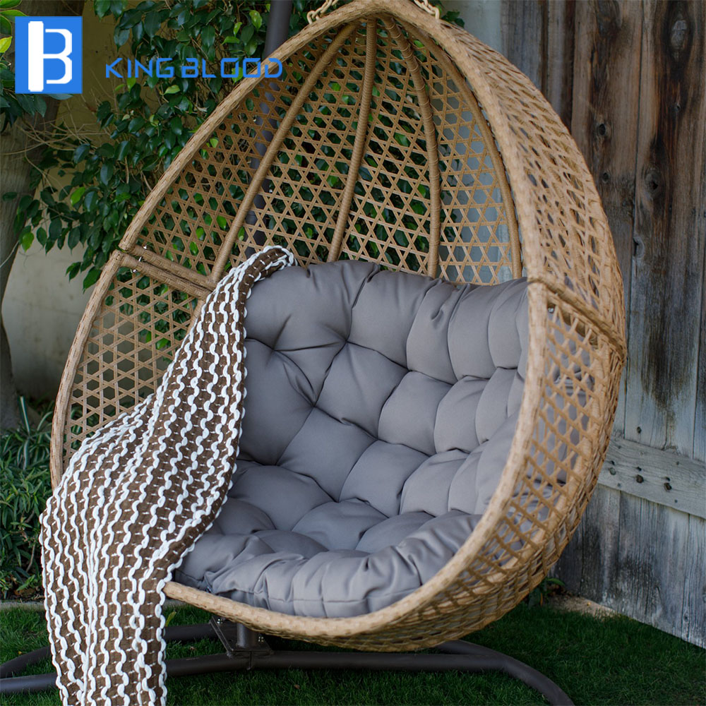 Double Egg Chair Indoor Outdoor Poly Rattan Double Two Persons Hanging Swing Chair Balcony Egg Chairs Buy Balcony Egg Chairs Hanging Swing Chair Poly Rattan Chairs