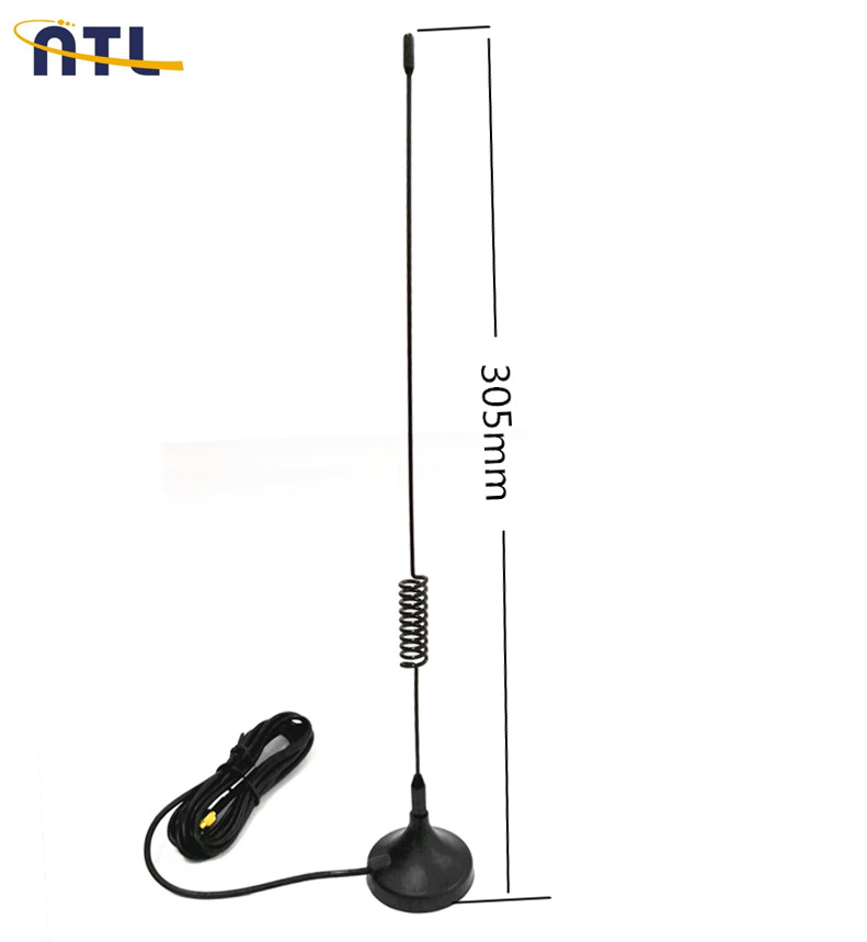 Mini-magnet Antenna Vhf/uhf/144-430mhz With Bnc-male