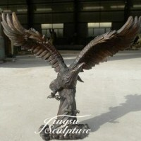 Outdoor Decoration Bronze Bald Eagle Statue - Buy Bronze ...