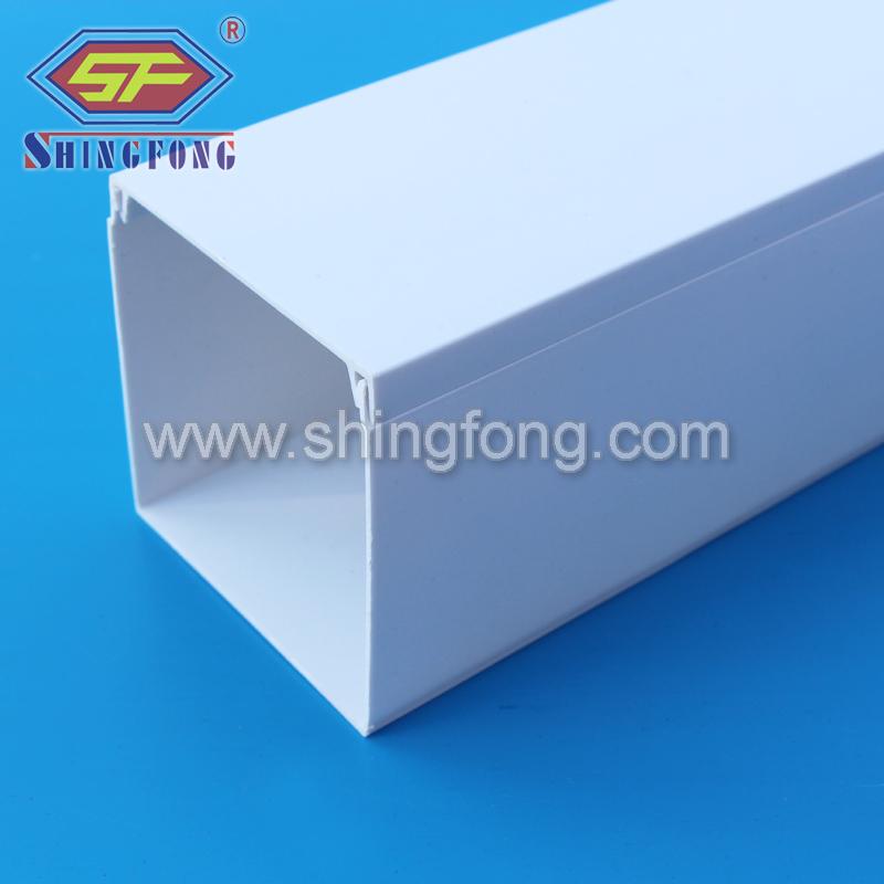 Singapur plastik kanal boyutu PVC kanal 100x100mmKablo