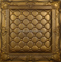 Beautiful 3d Faux Leather Wall Panels For Home Decoration ...