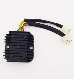 get quotations tc motor 6 wire voltage regulator rectifier for honda elite ch 125cc 150cc 250cc engine [ 1001 x 1001 Pixel ]