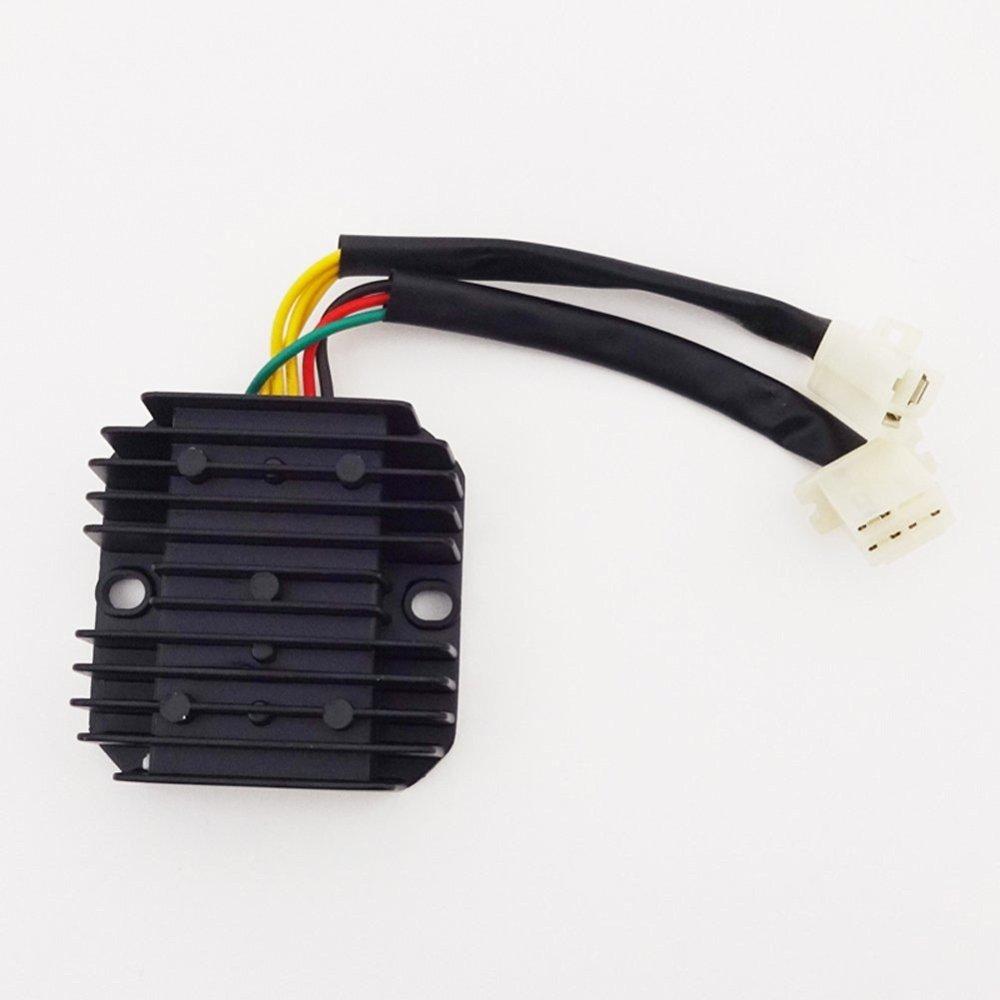 medium resolution of get quotations tc motor 6 wire voltage regulator rectifier for honda elite ch 125cc 150cc 250cc engine