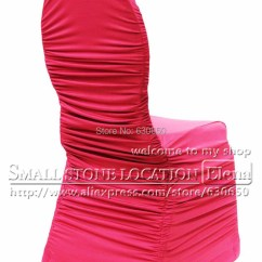 Hot Pink Spandex Chair Covers Child Size Dimensions Buy Ruffled Cover Wedding Free Shipping Banquet For Sale In Cheap Price On Alibaba Com