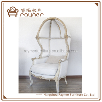 french canopy chair rail corners without coping vintage solid wood frame egg living room dome buy product