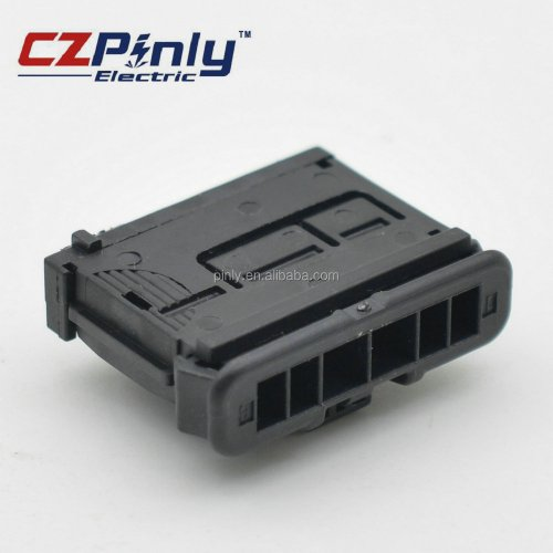 small resolution of 6 way black male delphi electrical waterproof connector with terminal and seal 98821106x