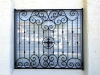 2016 Decorative Iron Window Grill Design/aluminium Windows