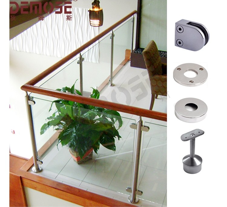 Indoor Glass Balcony Railing And Decorative Wood Handrail Buy | Glass Railing With Wood Handrail | Modern | Interior | Panel | Metal | Residential