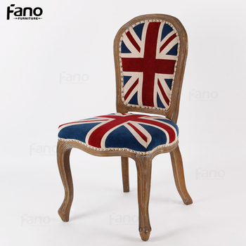 ghost chair replica exercise program nailhead union jack louis victoria side