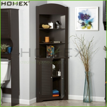 tall storage units for living room ideas to decorate a long wall wooden corner cabinet bathroom homex fsc bsci factory