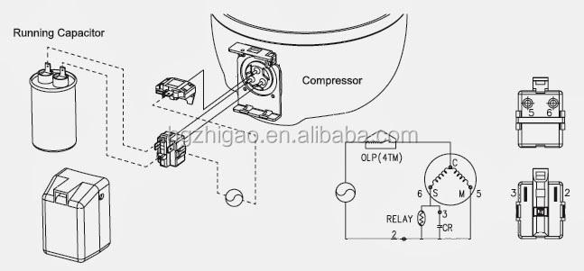 Buen quanlity original pequeño doméstica Samsung compresor