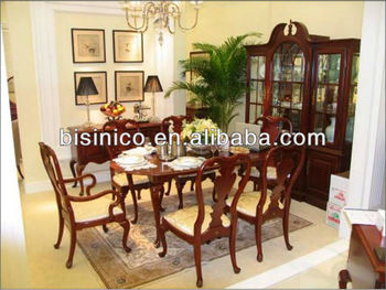 alibaba royal chairs office chair alternatives british furniture queen anne series dining room set table