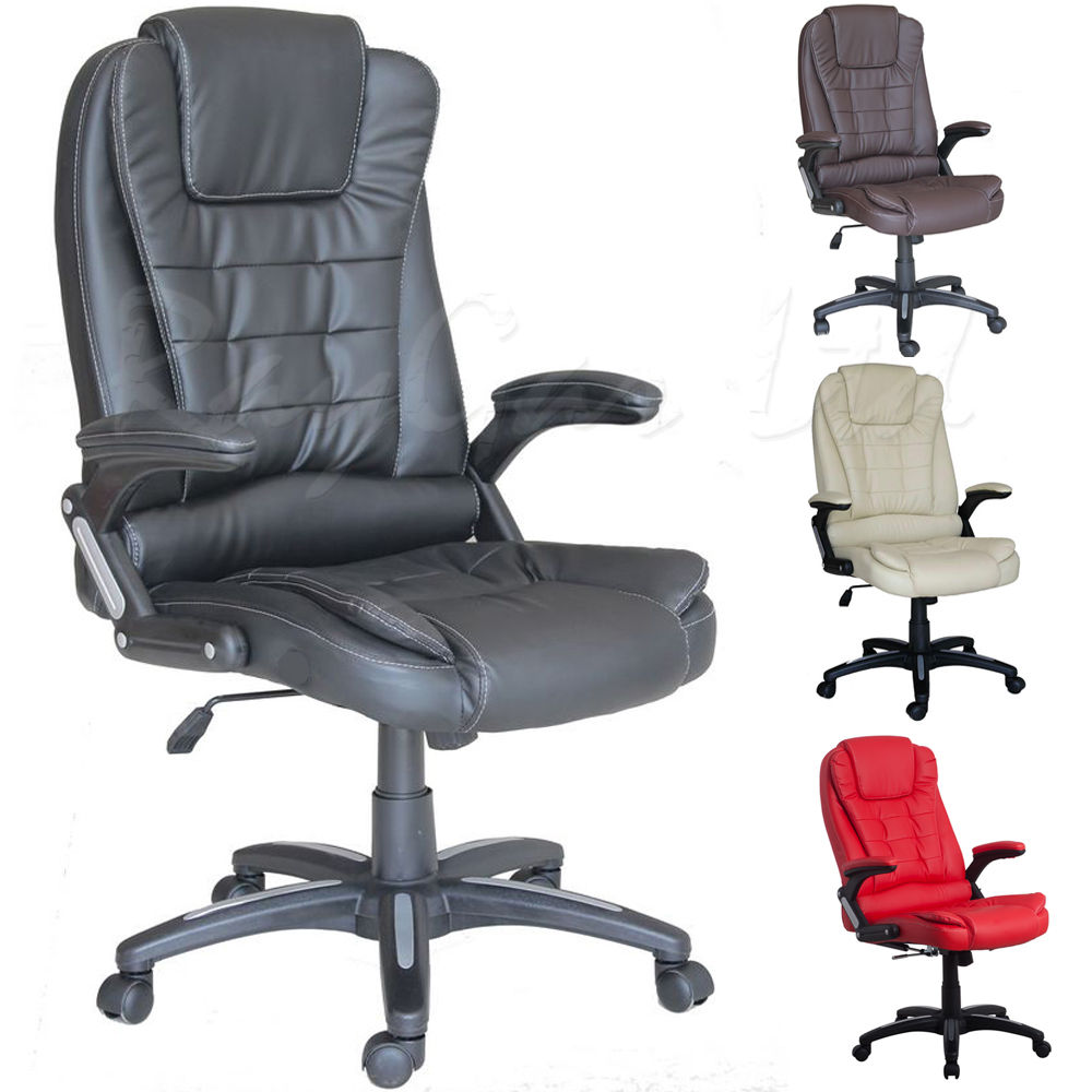 Massage Office Chair Best Choice Products Executive Ergonomic Heated Vibrating Computer Desk Office Massage Chair Black Buy Heated Office Chair Massage Office