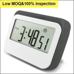 Digital Kitchen Timers Steamer Loudly Fridge Cooking Timer With Magnet Buy Light Alarm Countdown Loud Product On