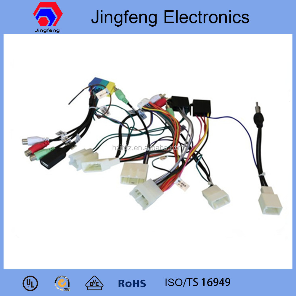 hight resolution of professional oem automotive wiring harness for toyota prado