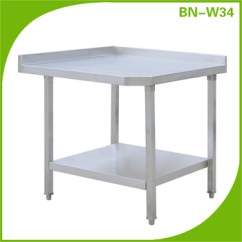 Kitchen Work Tables Modern Wall Decor Commercial Stainless Steel Table For Sale Used In The Marble Top