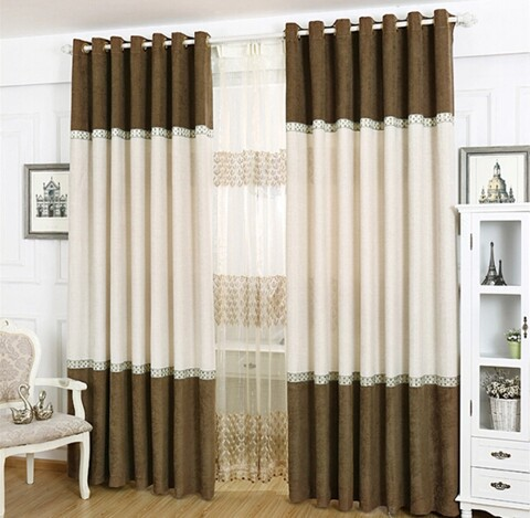 Guangzhou Hot Sale Curtains Living Room Modern Models