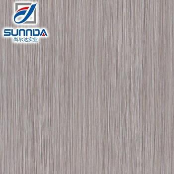Sunnda Light Gray Linear Striped Rustic Porcelain Bathroom