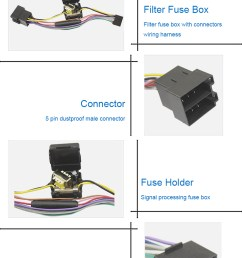 automotive filter fuse box wire harness fuse holder cable assembly car fuses [ 750 x 1104 Pixel ]