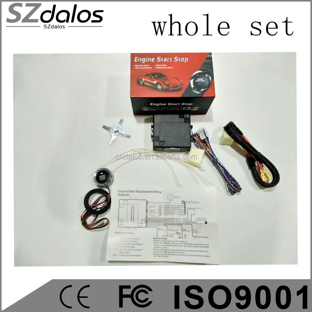 hight resolution of szdalos company dc 12v rfid remote control switch keyless passive entry system simple pke engine start stop button press