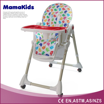adult baby high chair swing spring luxury steel french style dinning buy