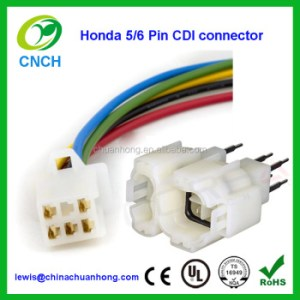 5 Pin 6 Pin Cdi Wiring Harness Connector 5 Wire To 6 Way