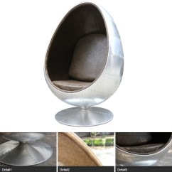 Adult Egg Chair Eiffel Wood Legs Living Room Furniture Size Aviator Spitfire Aluminium Pod Replica