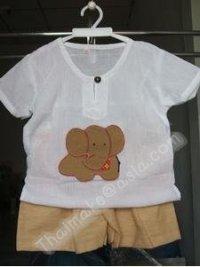 Thai Baby Clothing Set,Shirt And Short Set Infant Wear ...
