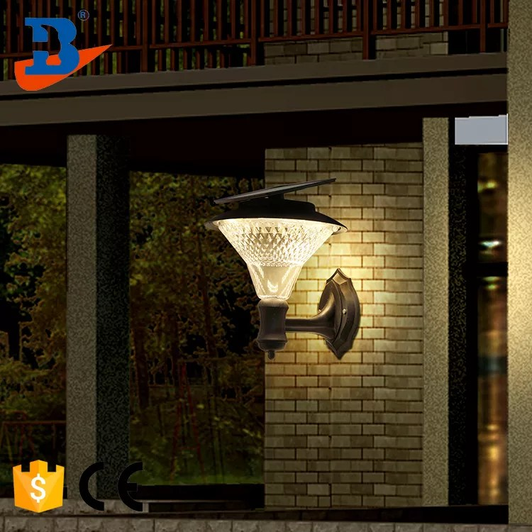 landscape solar gate post outdoor led pillar light buy solar gate light solar pillar light factory directly soalr wall lights product on alibaba com