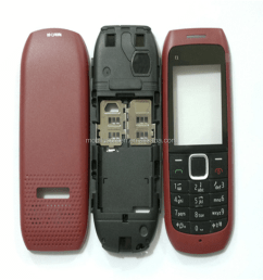 china supplier for nokia c1 00 lcd screen front housing cover [ 1000 x 1000 Pixel ]