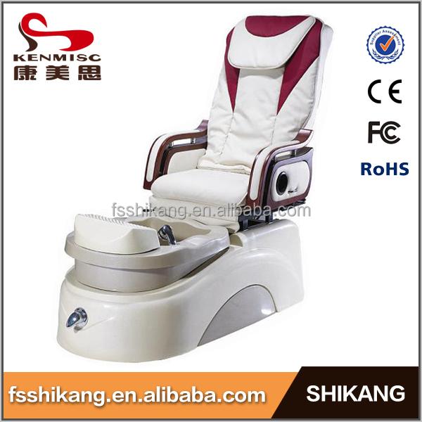 Saln masaje Shiatsu sistema utilizado Pedicura Spa para pies sillasilla Pedicura Spa con magntico Motor de chorro y cristalSilla de Pedicura