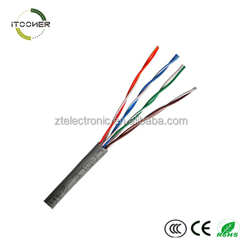 Utp Cat5e Network Cable 4 Pairs 24awg Cat5e Utp Patch Cord