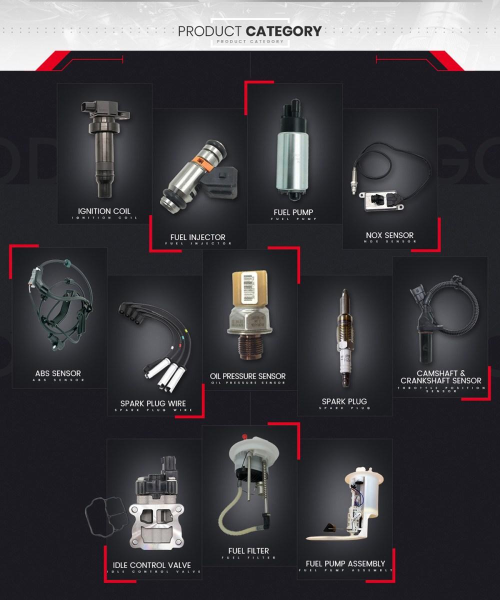 medium resolution of ignition coil 90919 02258 for corolla matrix prius